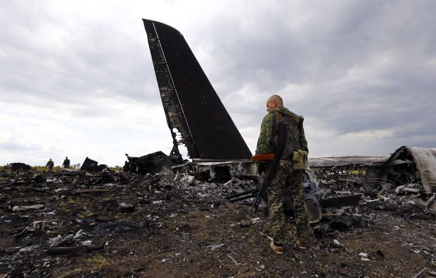 Місце катастрофи Іл-76 / REUTERS
