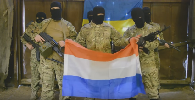 Ukraine's Interior Ministry has confirmed that the footage originates from Russia