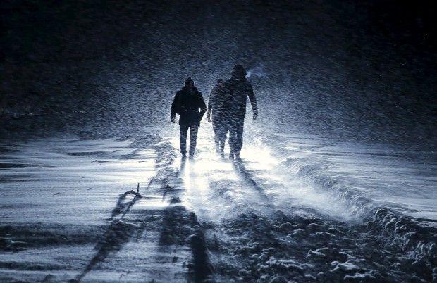 снег дорога / REUTERS