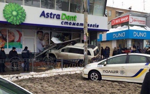 дтп левобережная киев толстошеев / Facebook/Киев автомобильный