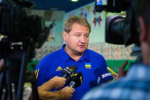 Мурзин поведал о предстоящих играх сборной / фото fbu.kiev.ua