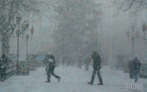 Погодні умови ускладнюватимуть роботу автотранспорту / фото УНІАН
