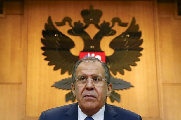 Sergey Lavrov / photo by REUTERS