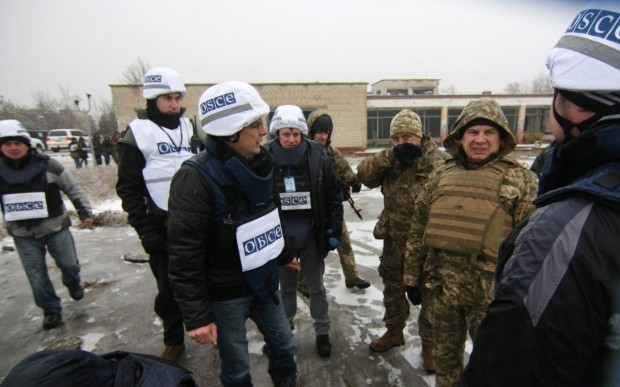 Thirty-six Russian citizens were working for the OSCE SMM to Ukraine in occupied Donbas late last year / Photo from UNIAN