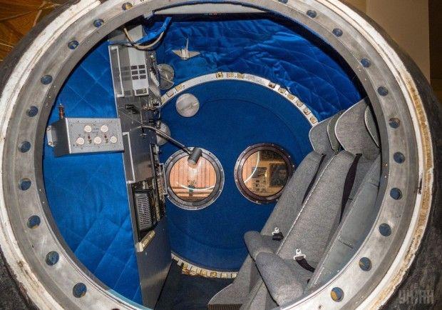 Космическая капсула в Музее космонавтики в Киеве / Фото УНИАН