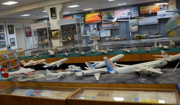 Модели самолетов в музее / Фото УНИАН