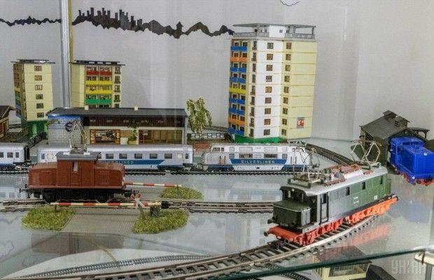 Железная дорога в Государственном музее игрушки / Фото УНИАН