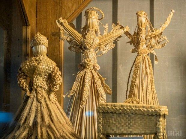 Игрушки из соломы в Государственном музее игрушки / Фото УНИАН