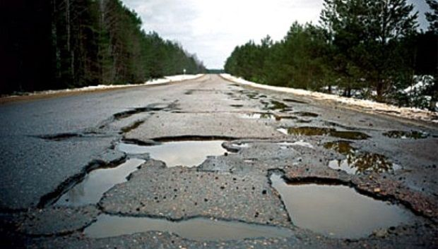 Groysman promises to patch the roads for billions of hryvnias / zn.ua