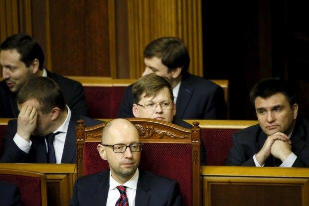 яценюк / REUTERS