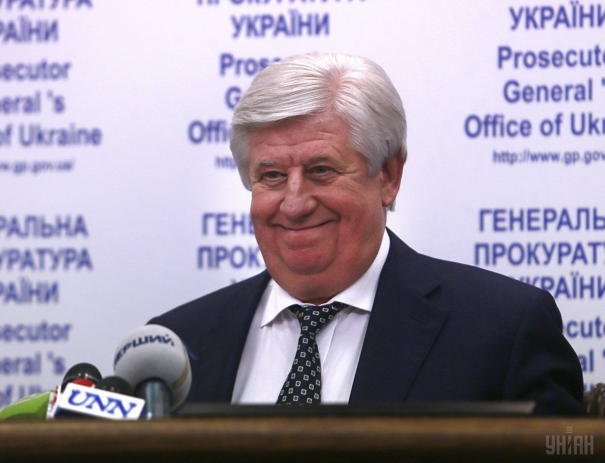 Prosecutor General Shokin has issued instructions against the transfer of criminal cases to anti-corruption agencies / Photo from UNIAN