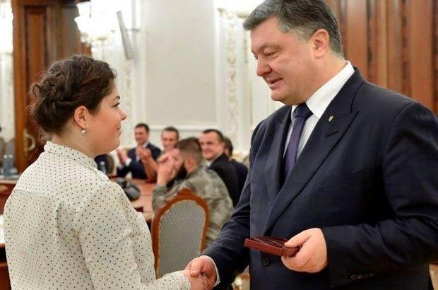 жуковская орден порошенко / oda.te.gov.ua