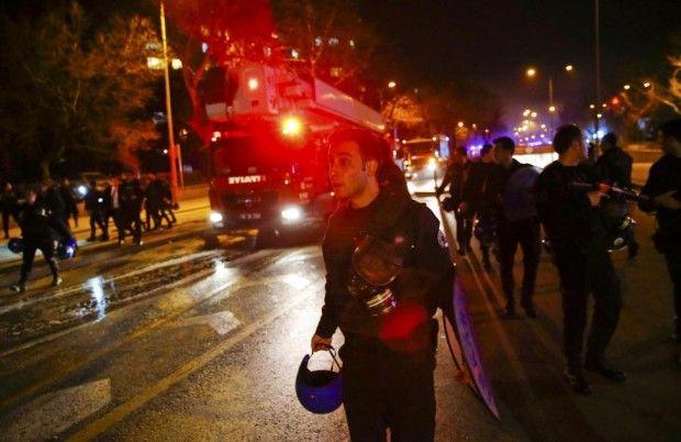 анкара теракт взрыв 17.02.16 / REUTERS