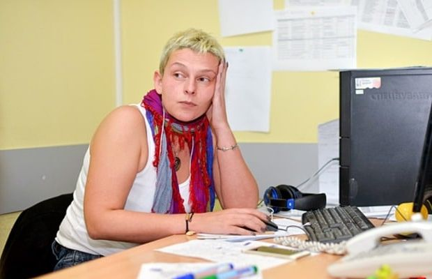 Russian journalist Mariya Stolyarova worked for Ukraine's national Inter TV channel / Photo from Dusia