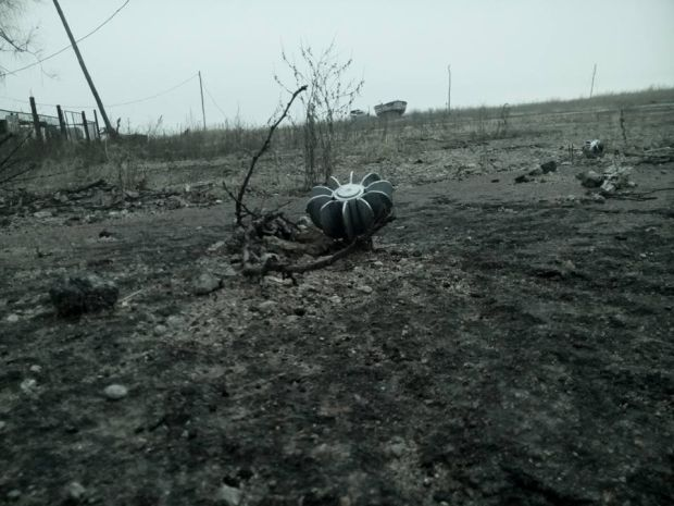 Окупанти вдарили з мінометів калібру 120 і 82 мм / фото facebook.com/Стас Кухарчук
