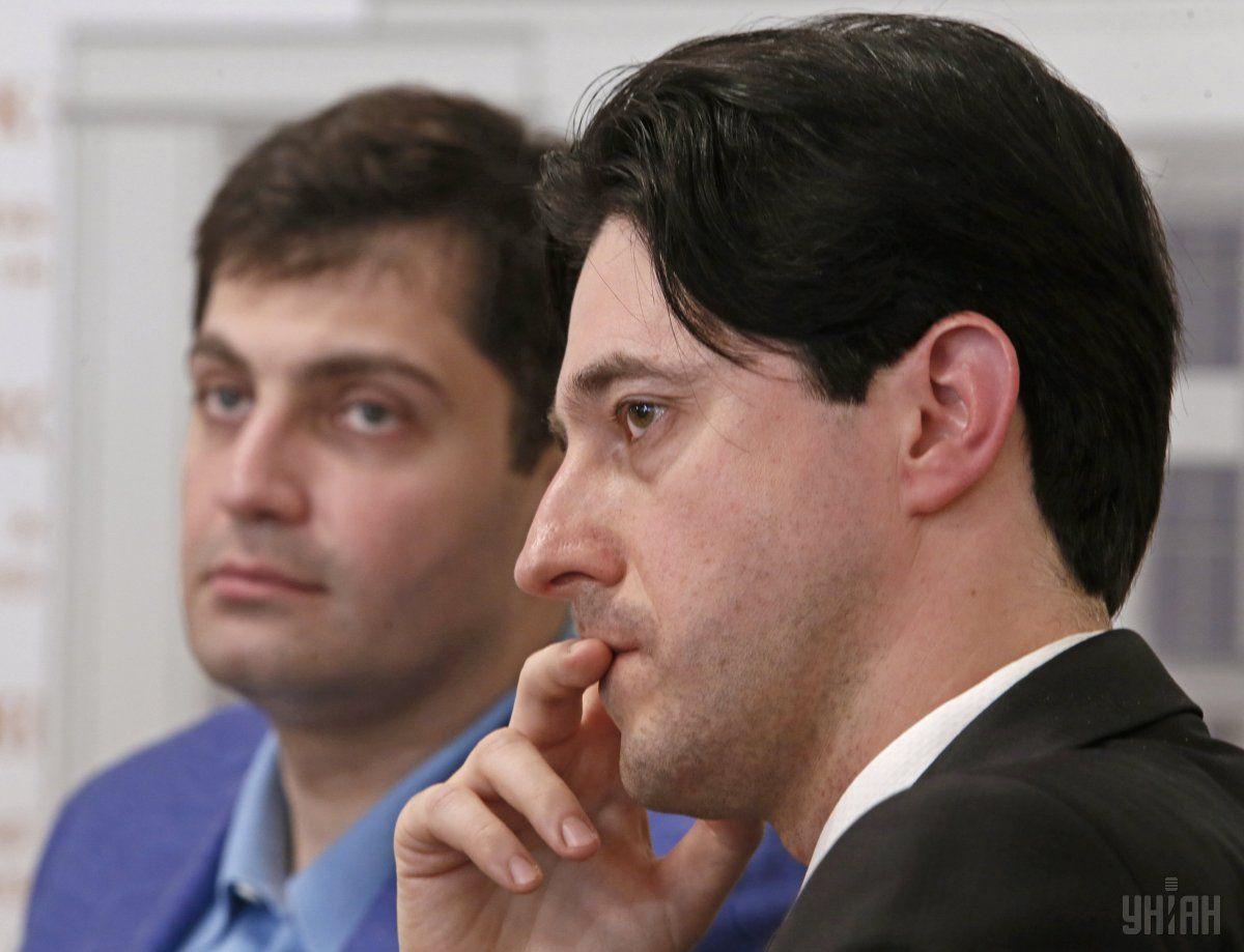 Kasko (right) with Deputy Prosecutor General Sakvarelidze (left) / Photo from UNIAN