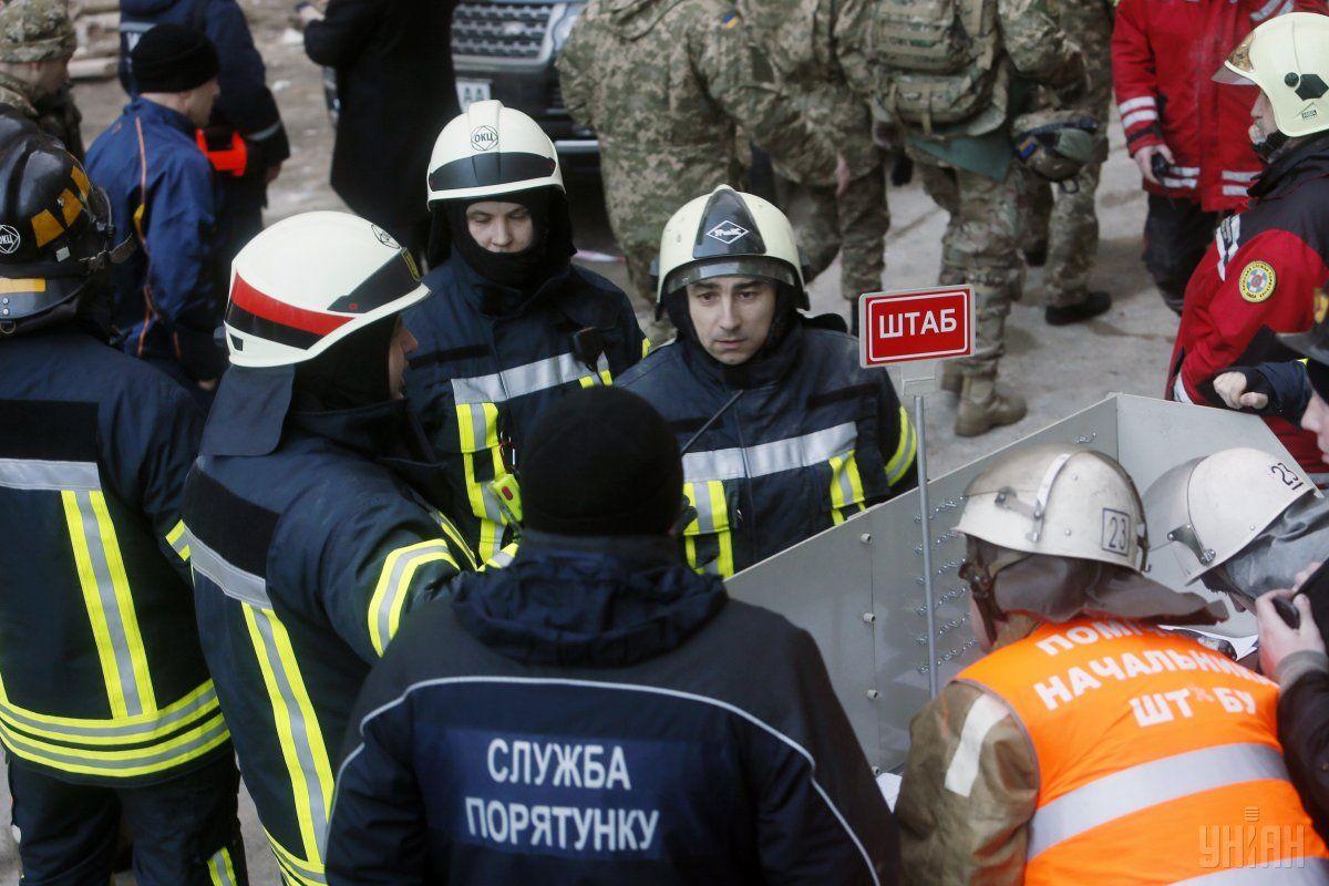 спасатели / Фото: УНИАН