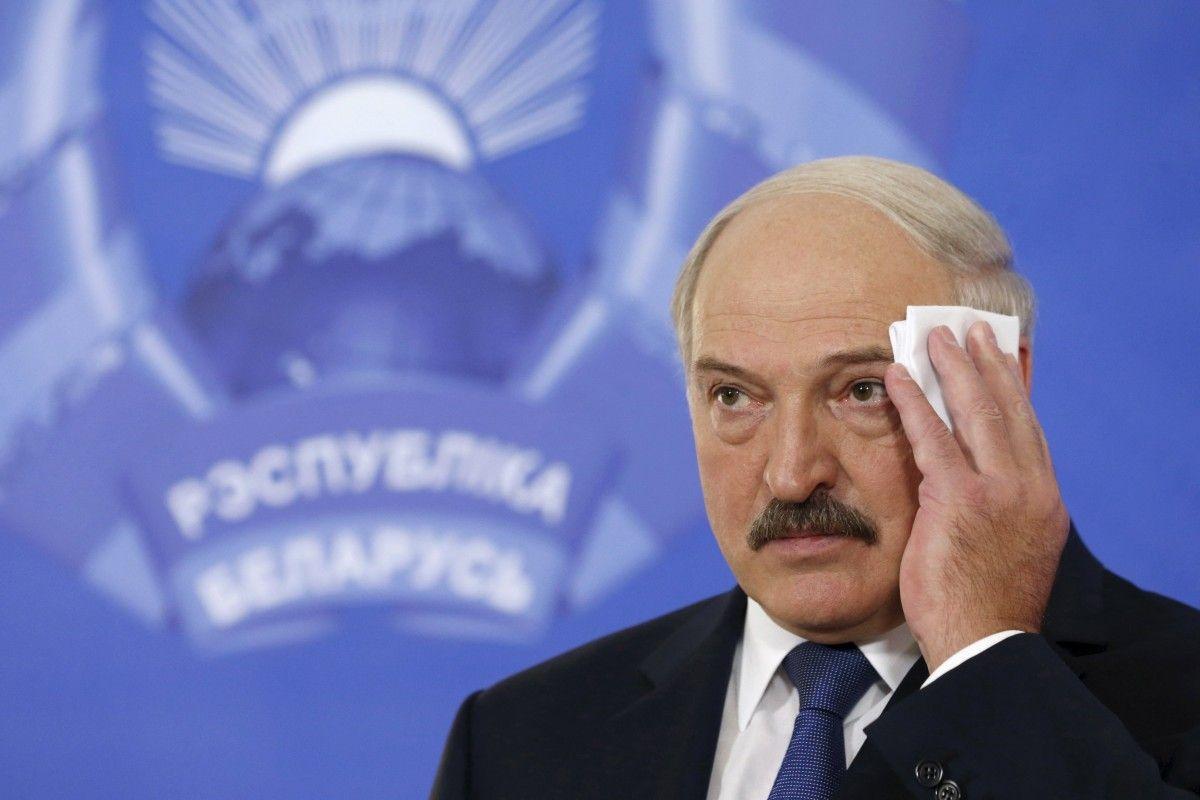 Президент Білорусі Олександр Лукашенко / REUTERS