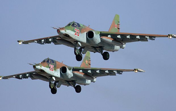 The jet was carrying no weapons / Photo from structure.mil.ru