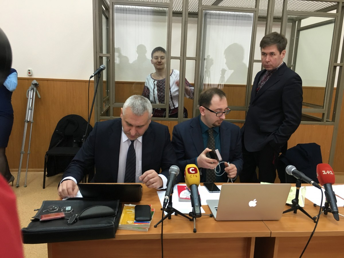 Savchenko said that her trial Russia proved Russian journalists had been lying / Photo from UNIAN