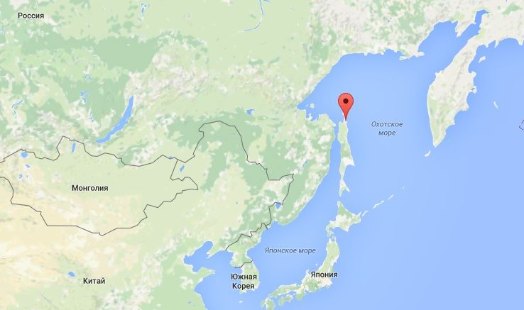 Место разлива / Google Maps