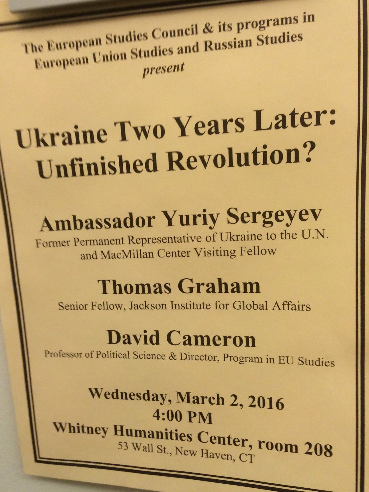 The first round table devoted to the events in Ukraine / Photo from UNIAN