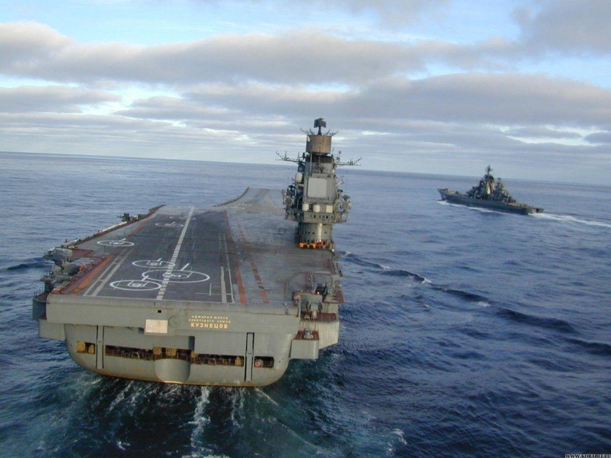 Су-33 впав у море при посадці на авіаносець