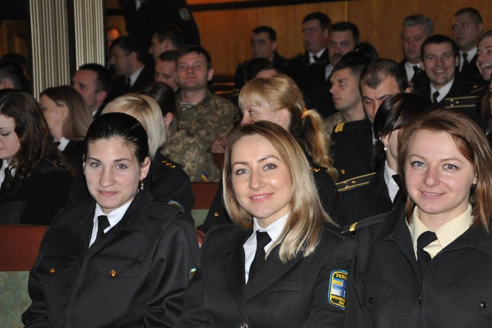 Около 30 женщин-военнослужащих флота имеют статус участников АТО / ВМС