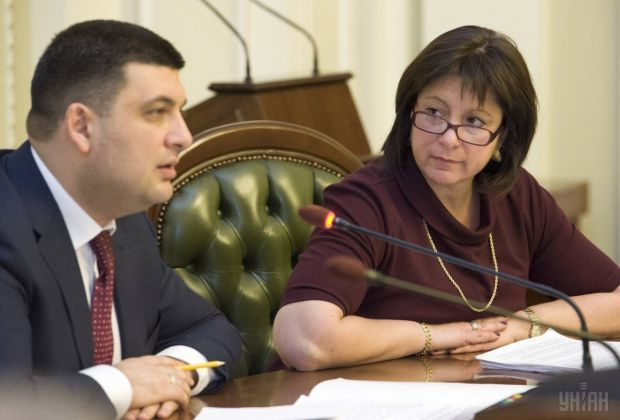 Groysman and Jaresko said they were ready to lead the Cabinet / Photo from UNIAN