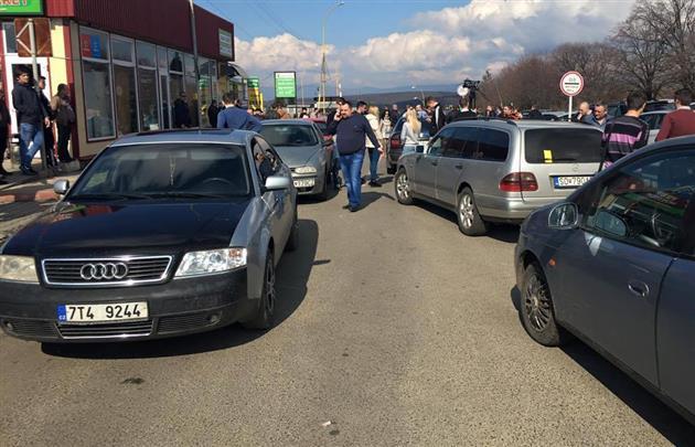 Водії заявили про безстрокову акцію / mukachevo.net