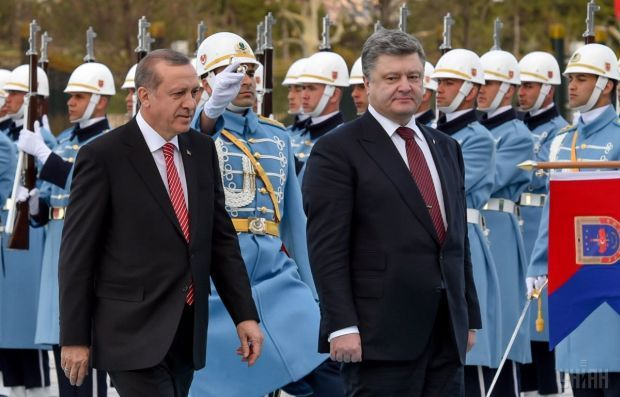 Poroshenko visited Turkey, where he used an opportunity for an intensive dialogue / Photo from UNIAN