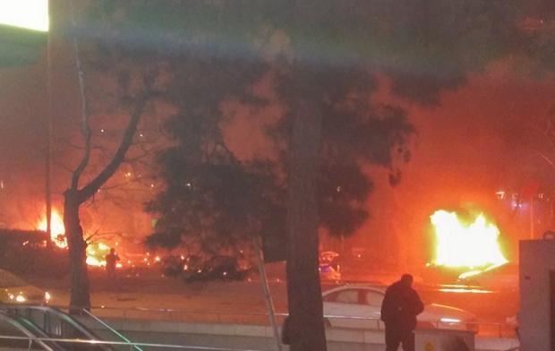 В центре Анкары произошел сильный взрыв / @TurkeysObserver