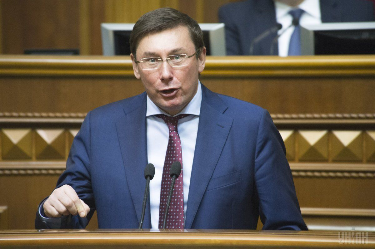Yuriy Lutsenko heads the Poroshenko Bloc's parliamentary faction / Photo from UNIAN