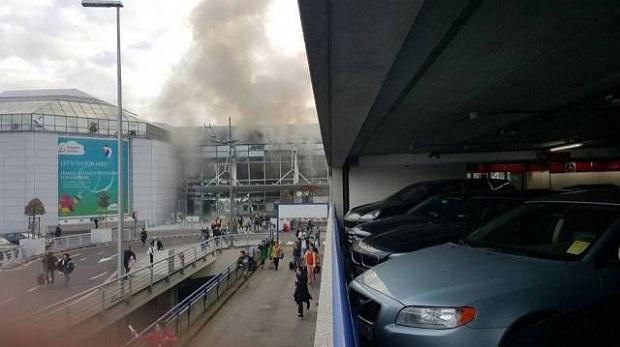 взрыв, Брюссель, аэропорт / rtbf.be