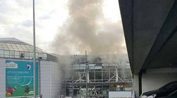 аэропорт, Брюссель, взрыв / twitter.com/XHNews