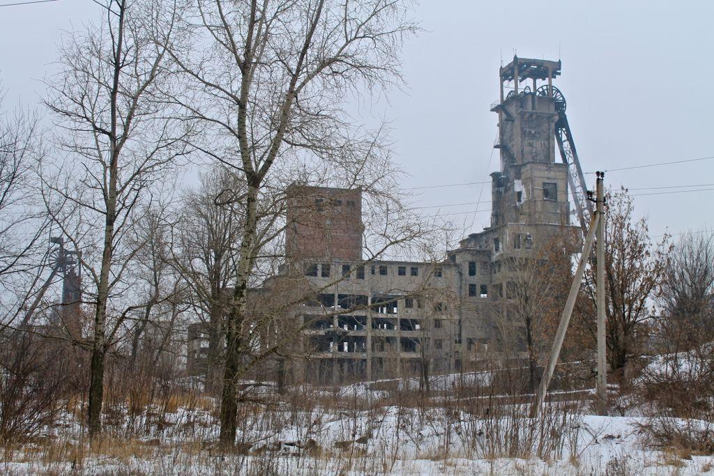 шахта юный коммунар, юнокоммунаровск / stereochippie.livejournal.com