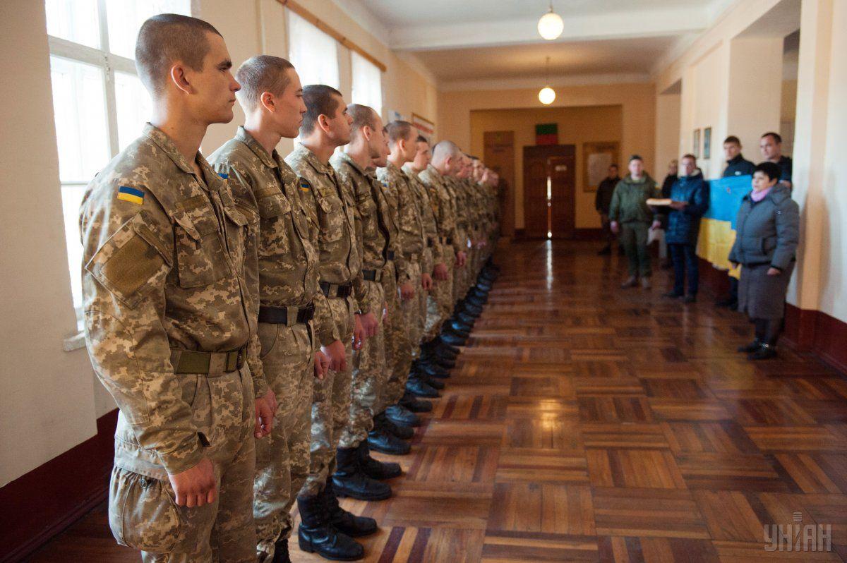 За ухилення від військової служби солдата засудили до ув'язнення / Фото УНІАН