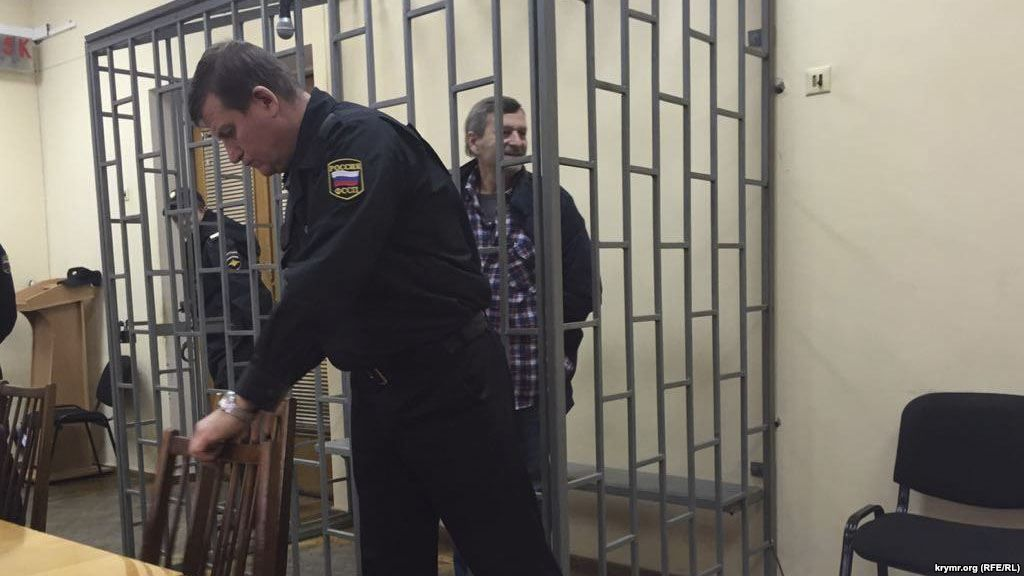 Ахтем Чийгоз на суде, архивное фото / krymr.ogr
