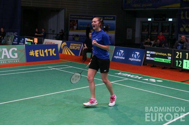 Марина Ильинская стала бронзовым призером чемпионата Европы / badmintonkharkiv.org.ua
