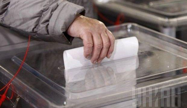 Порядок партий в бюллетене определяли жеребьевкой / фото УНИАН