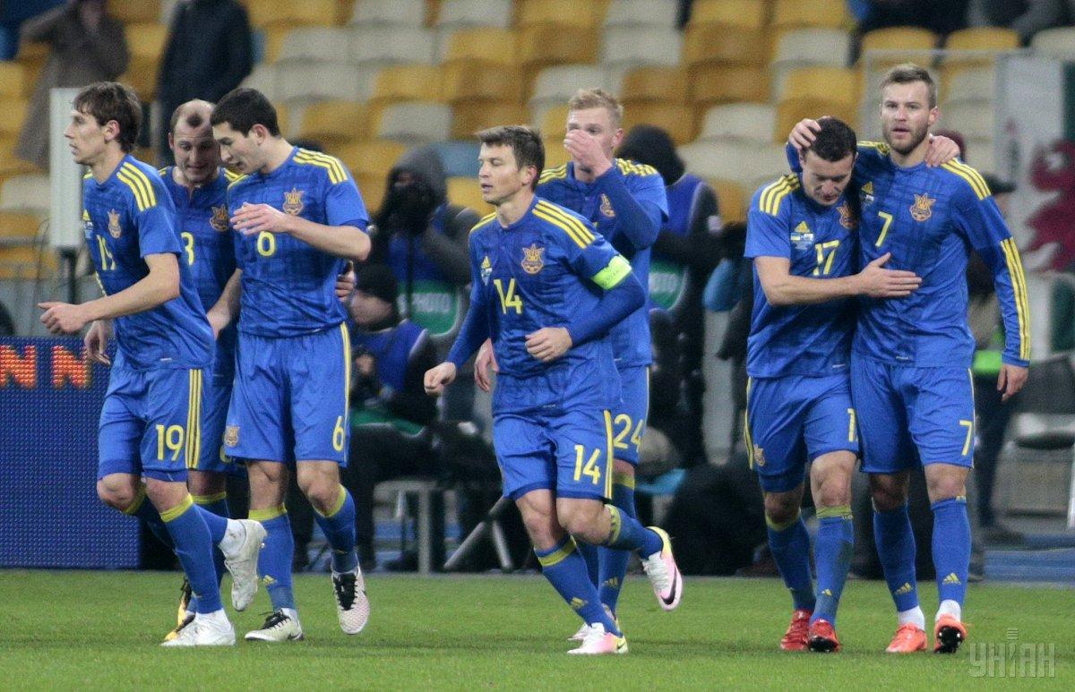 Сборная Украины - 19-я в рейтинге / УНИАН