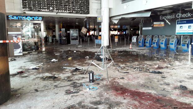 Аэропорт Брюсселя после теракта / REUTERS