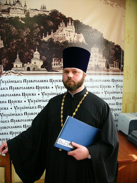Голова Синодального юридичного відділу УПЦ протоієрей Олександр Бахов