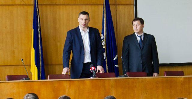 Кличко представил главу Святошинского района / kievcity.gov.ua