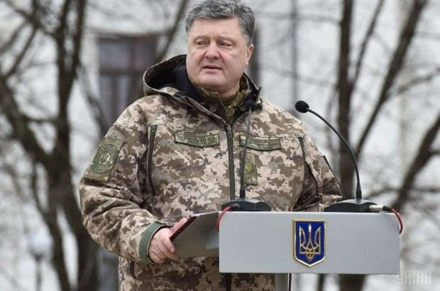 Poroshenko says Russia continues supporting its proxies in Donbas / Photo from UNIAN