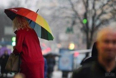 Погода на сегодня: в Украину придут дожди и похолодание до +11° (карта)