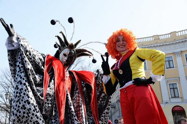 В Одессе отпраздновали День смеха / фото УНИАН