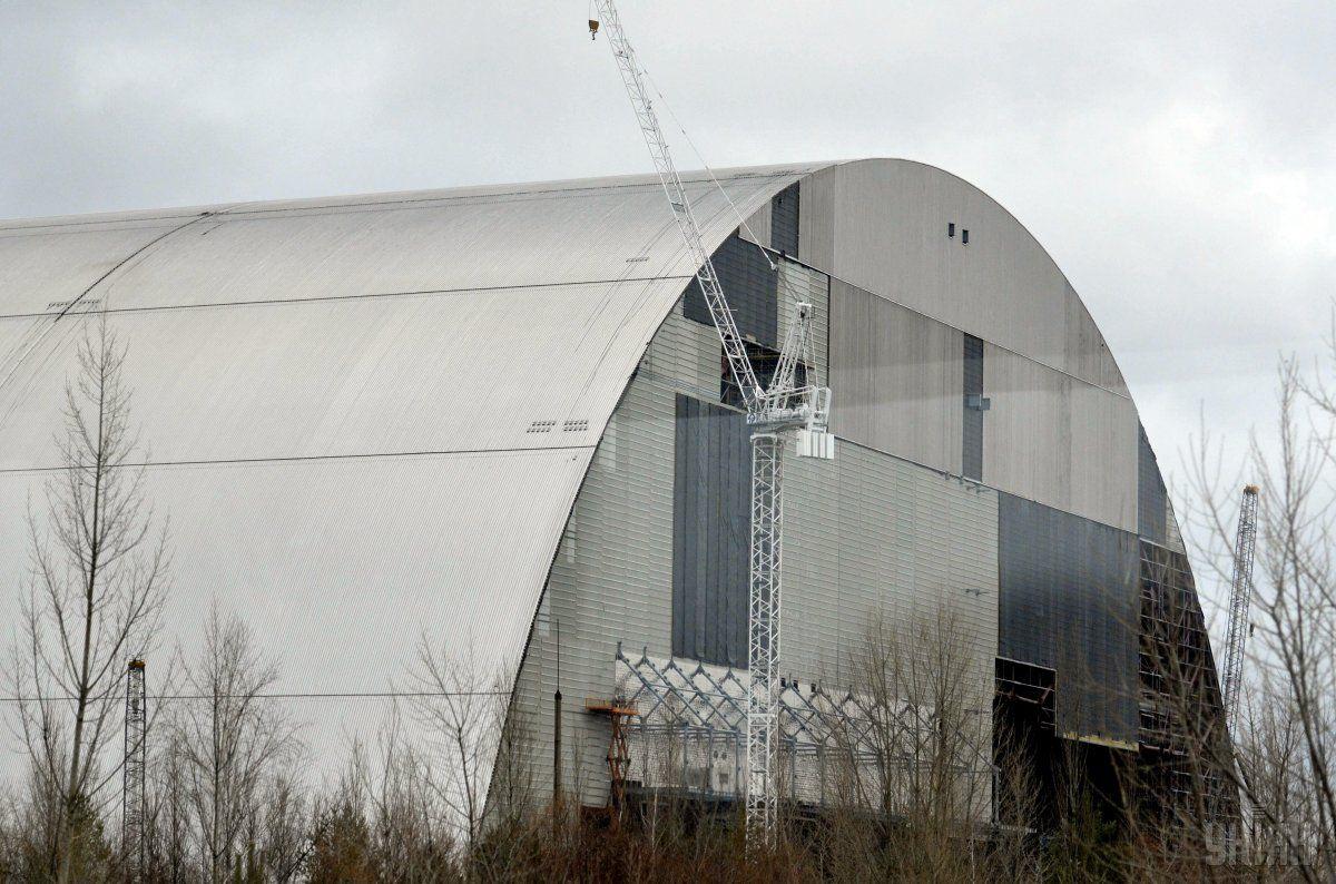 Будівництво нового безпечного конфайнмента (НБК) над об'єктом