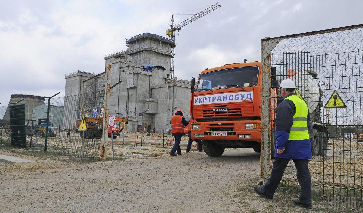 Будівництво нового об'єкту СВЯП-2 (сховище відпрацьованого ядерного палива) на Чорнобильській АЕС / Фото УНІАН