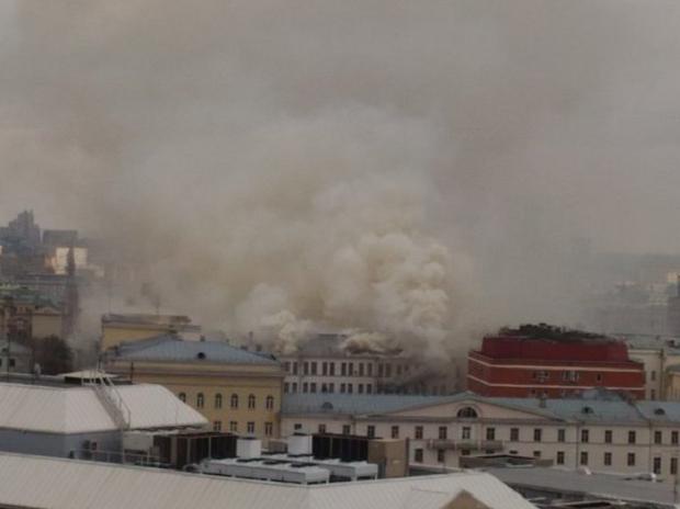 пожар, Минобороны / twitter.com/Ser3_M